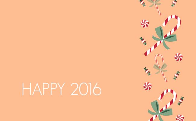 Поздравления с Новым годом 2016 открытки скачать