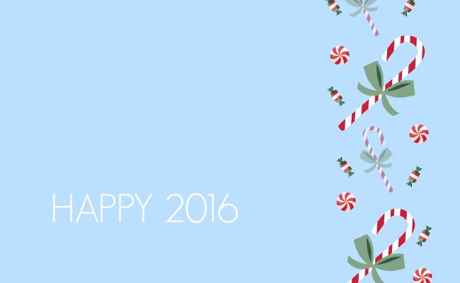 с Новым годом 2016 открытки скачать