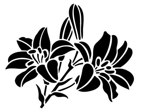 вытынанки на 8 марта шаблоны цветов