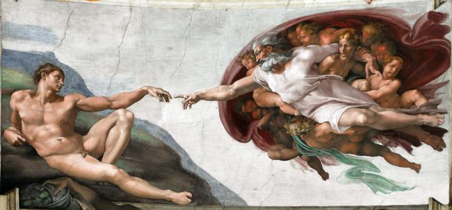 Сотворение Адама (1511)