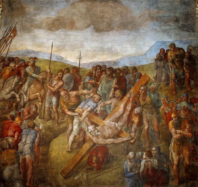 Распятие Святого Петра (1546 – 1550)