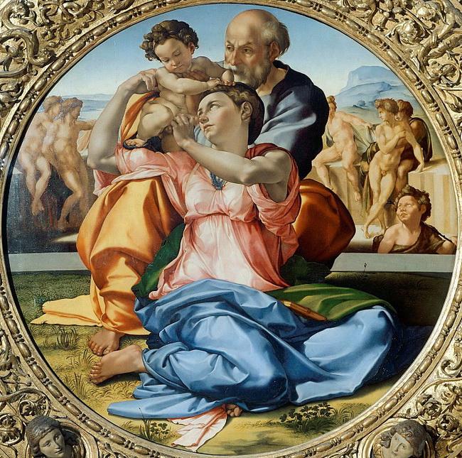 Мадонна Дони (1507)
