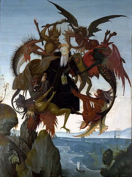 Мучения Святого Антония (1487 – 1489)