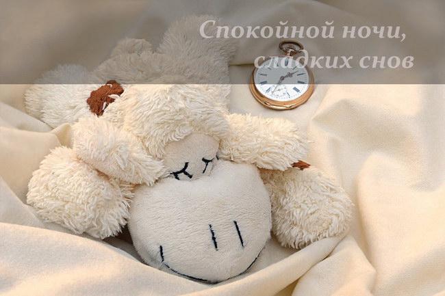 Картинки «Спокойной ночи, сладких снов» девушке