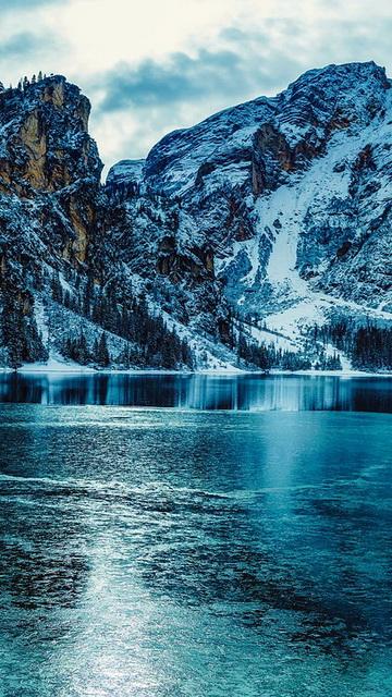 Зимние картинки на телефон (красивые)