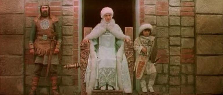 сцена из фильма Легенда о княгине Ольге (1983)