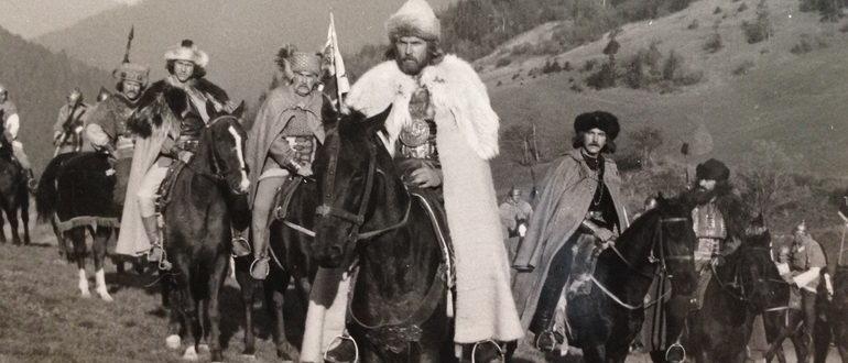 герои из фильма Даниил - князь Галицкий (1987)