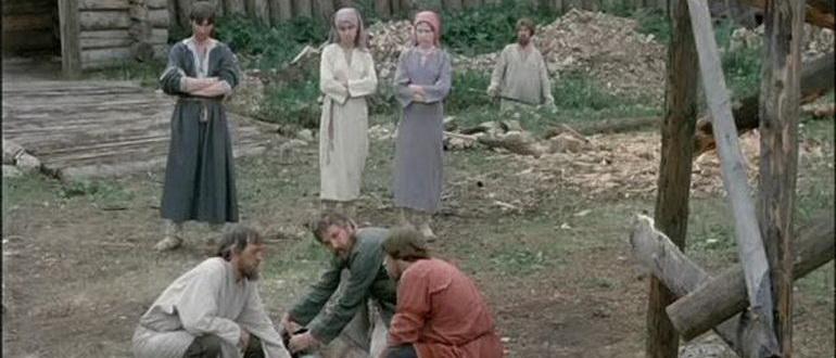 персонажи из фильма Житие Александра Невского (1991)
