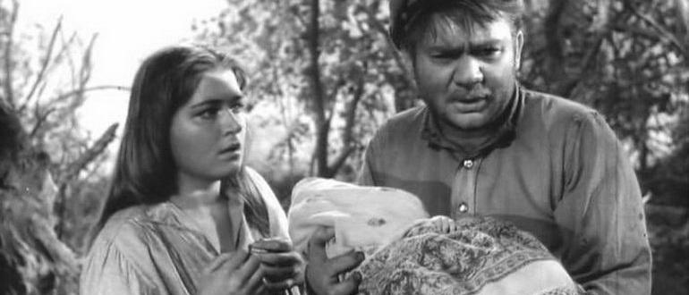 сцена из фильма Донская повесть (1964)
