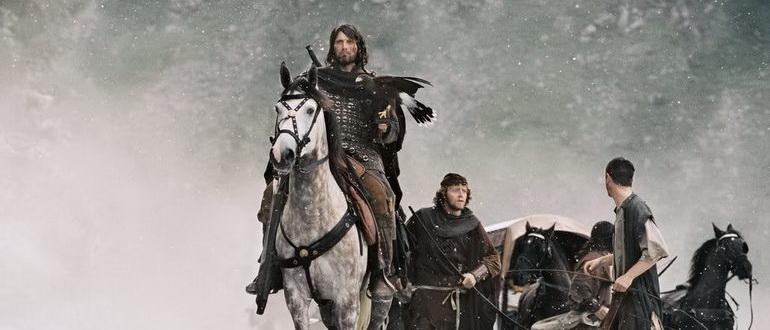 сцена из фильма Король Артур (2004)