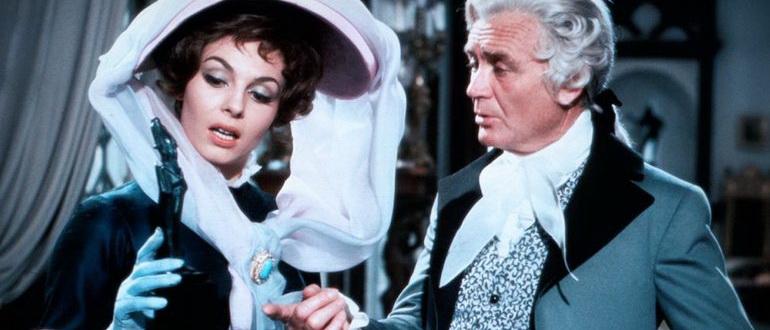 персонажи из фильма Леди Гамильтон (1968)