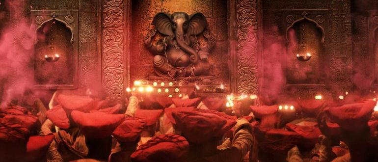 кадр из фильма Баджирао и Мастани (2015)