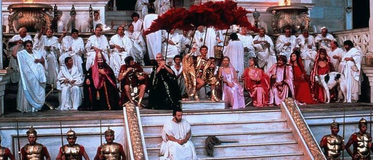 сцена из фильма Калигула (1979)