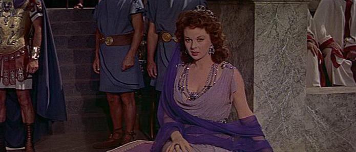 кадр из фильма Деметрий и гладиаторы (1954)
