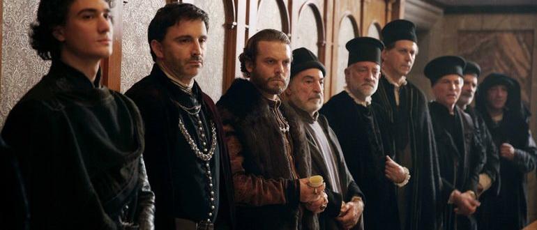 сцена из сериала Медичи: Правители Флоренции (2016)