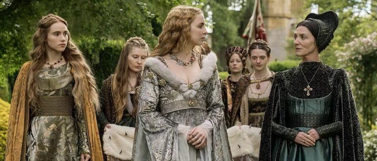 сцена из сериала Белая принцесса (2017)