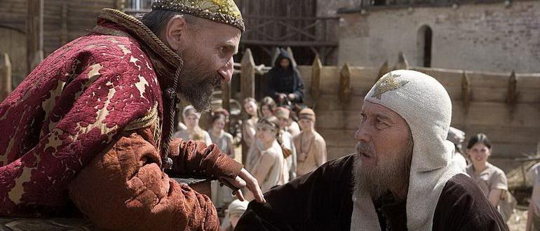 сцена из фильма Царь (2009)