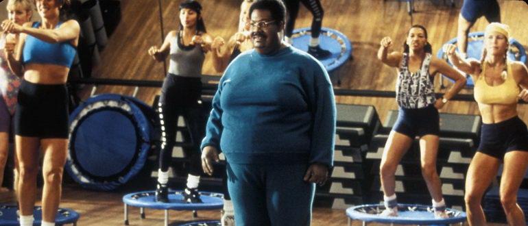 кадр из фильма Чокнутый профессор (1996)