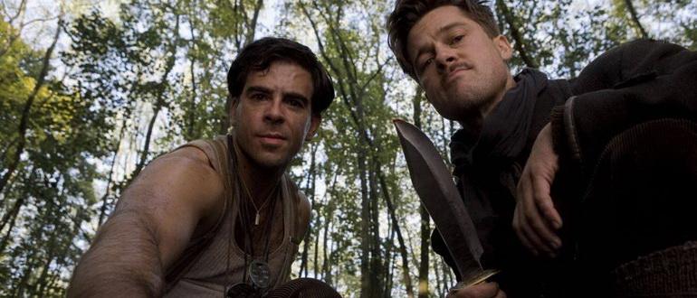 кадр из фильма Бесславные ублюдки (2009)