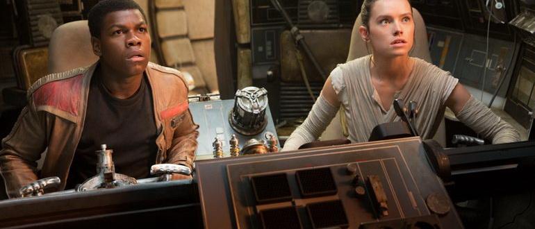 сцена из фильма Звездные войны: Пробуждение силы (2015)