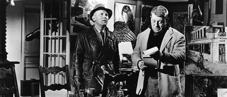 комедия Через Париж (1956)