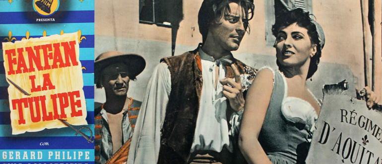 кадр из фильма Фанфан-Тюльпан (1952)