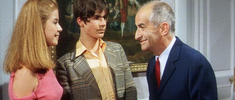 сцена из фильма Большие каникулы (1968)