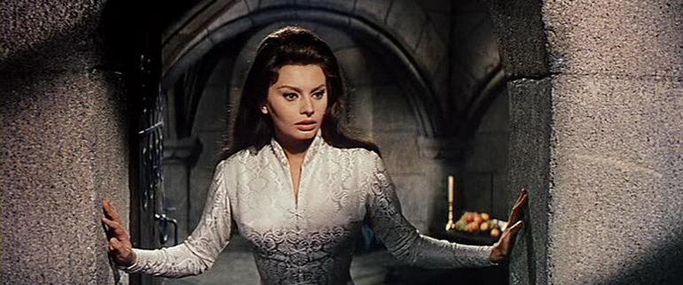 сцена из фильма Эль Сид (1961)