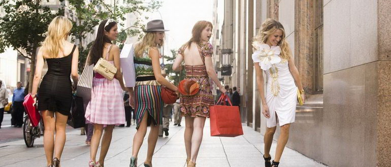 кадр из фильма Секс в большом городе (2008)