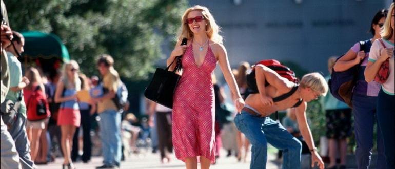 сцена из фильма Блондинка в законе (2001)