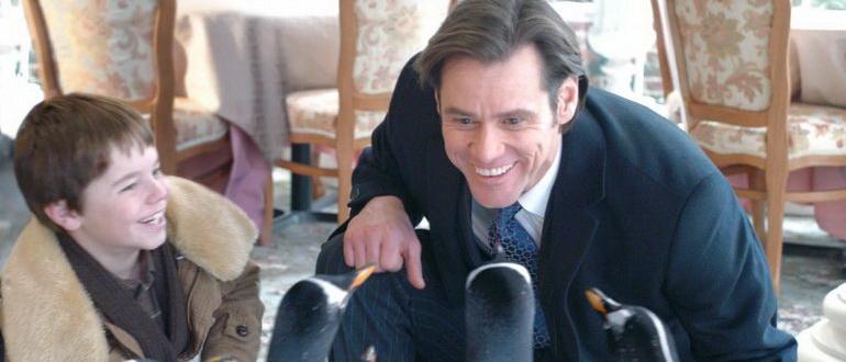 кадр из фильма Пингвины мистера Поппера (2011)