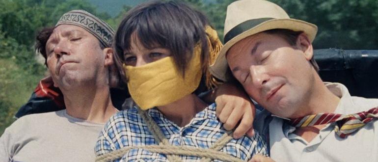 кадр из фильма Кавказская пленница, или новые приключения Шурика (1967)