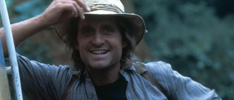 кадр из фильма Роман с камнем (1984)