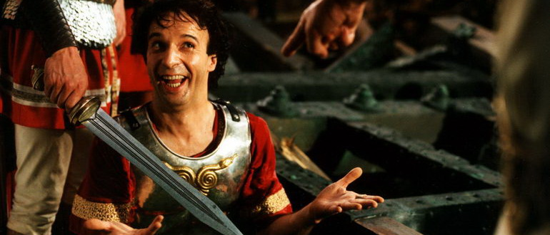 кадр из фильма Астерикс и Обеликс против Цезаря (2000)