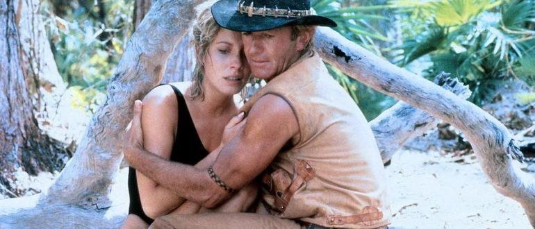 сцена из фильма Крокодил Данди (1986)