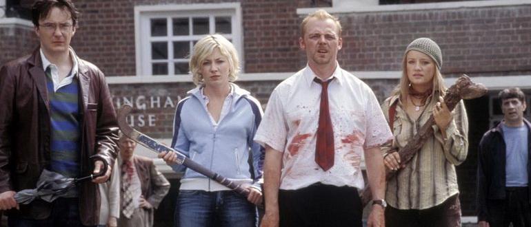 кадр из фильма Зомби по имени Шон (2004)