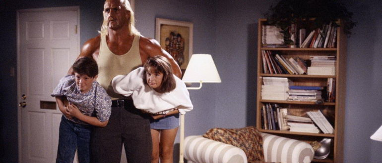 сцена из фильма Коммандо из пригорода (1991)