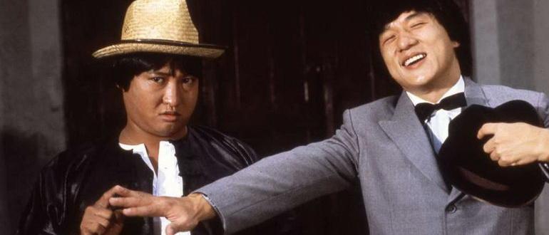сцена из фильма Проект А: Часть 1 (1983)