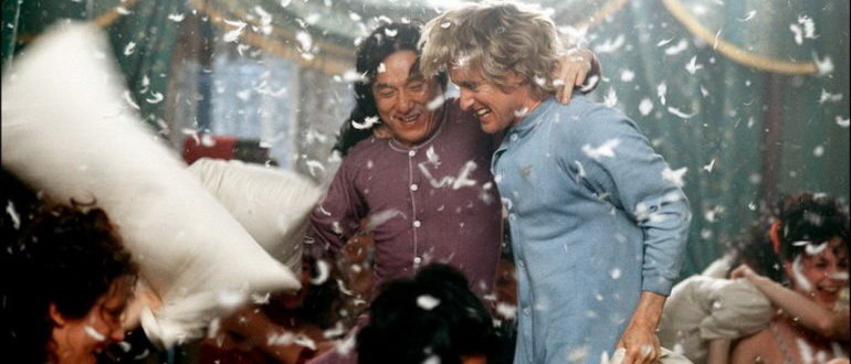 кадр из фильма Шанхайские рыцари (2003)
