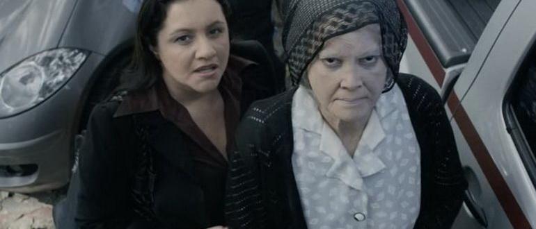 сцена из фильма Дом в конце времен (2013)