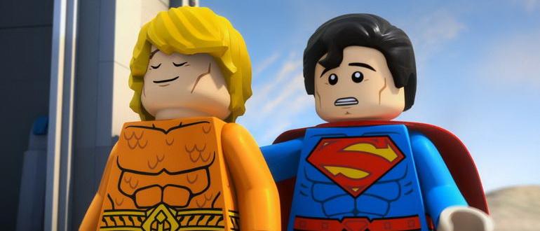 кадр из мультфильма LEGO DC Comics: Аквамен - Ярость Атлантиды (2018)