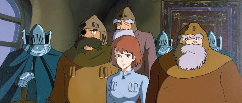 мультфильм Навсикая из Долины ветров (1984)