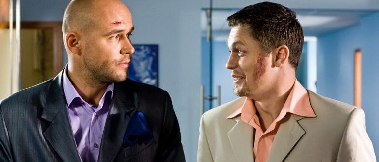 персонажи из фильма Глухарь в кино (2010)