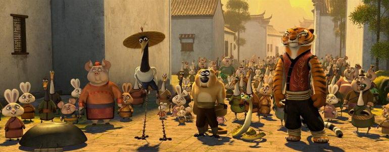 мультфильм Кунг-Фу Панда (2008)