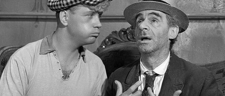 кадр из фильма Золотой теленок (1968)