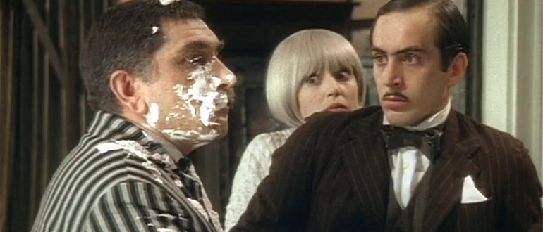сцена из фильма Здравствуйте, я ваша тетя! (1975)