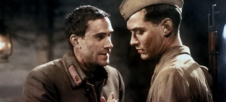персонажи из фильма Враг у ворот (2001)