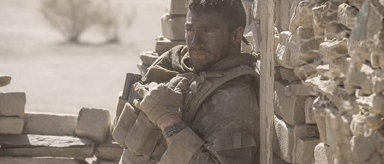 кадр из фильма Стена (2017)