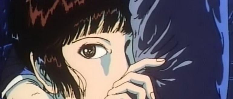 сцена из аниме Мидори (1992)