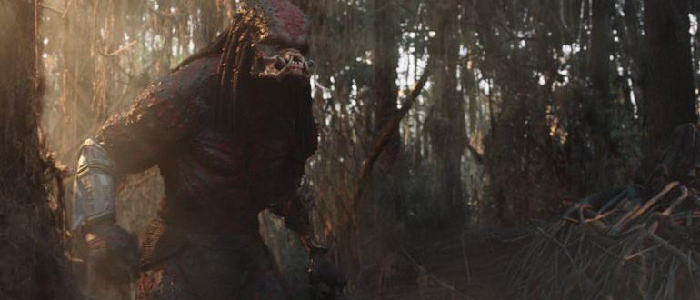 кадр из фильма Хищник (2018)